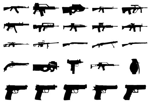 Weapons Clip Art.