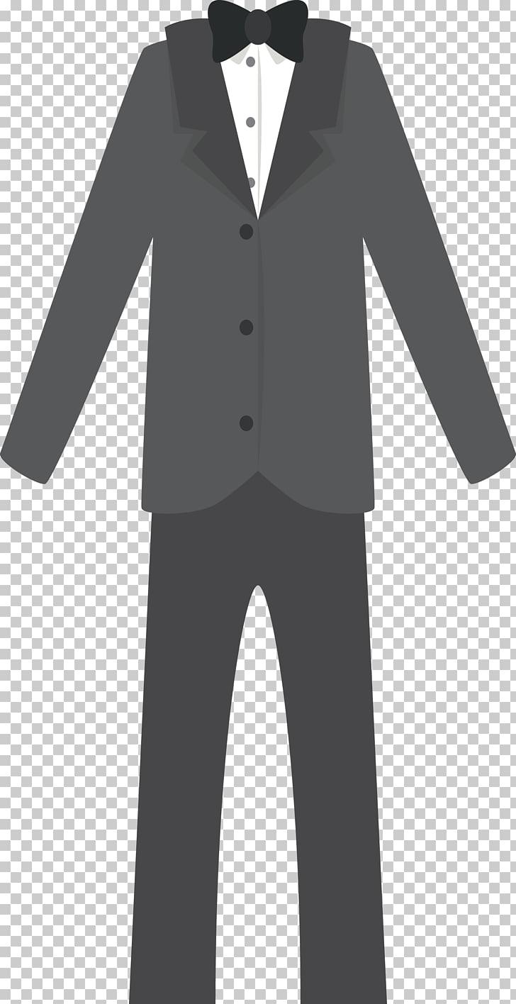 Suit Formal wear, Suit material PNG clipart.