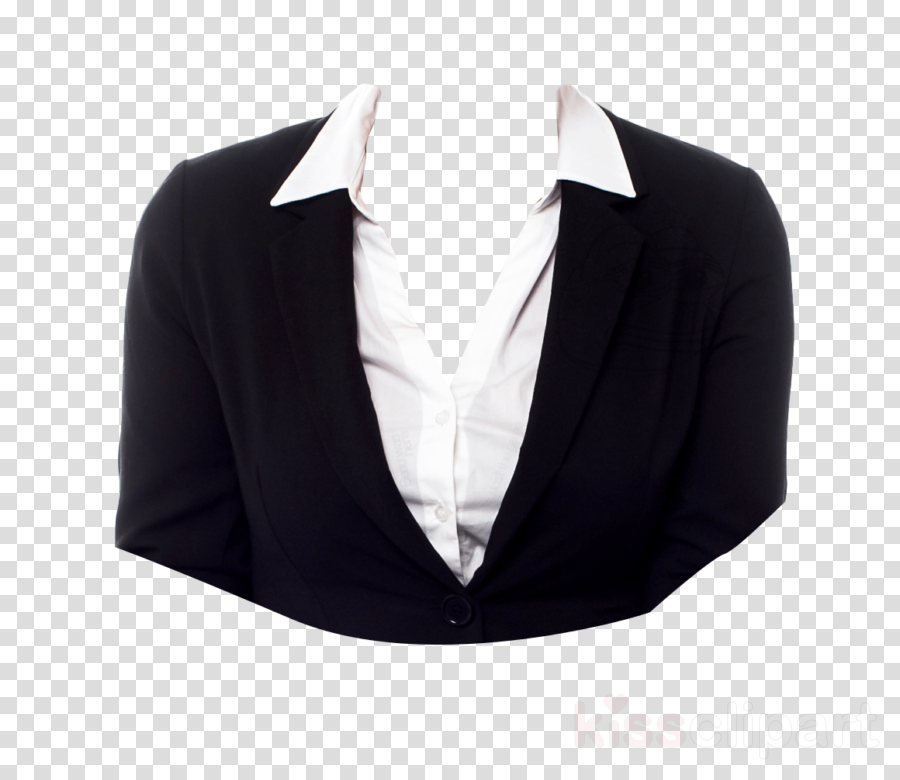 clothing black white outerwear suit clipart.