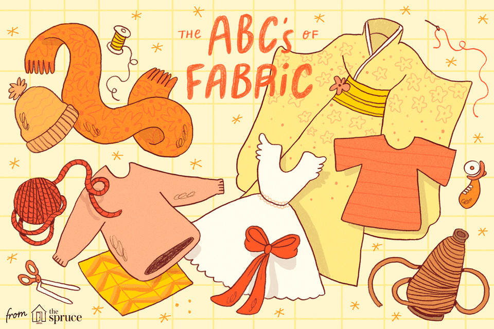 Types of Fabric A to Z: What You Are Wearing.