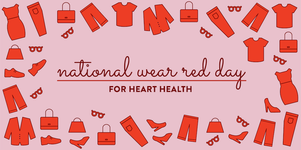 National Wear Red Day 1.