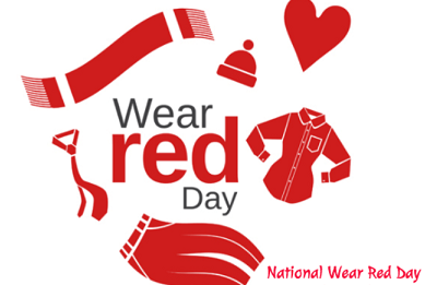 Diversity & Inclusion Council Sponsors National Wear Red Day.