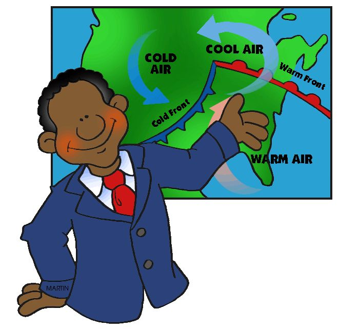 Weatherman clipart 5 » Clipart Station.