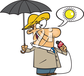 Weatherman clipart images and royalty.