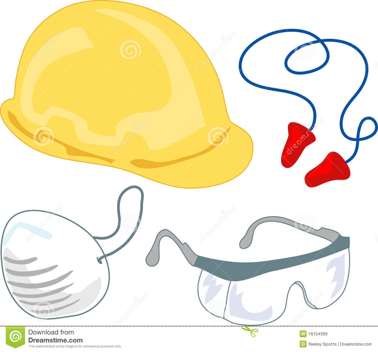 Safety Equipment Clipart.