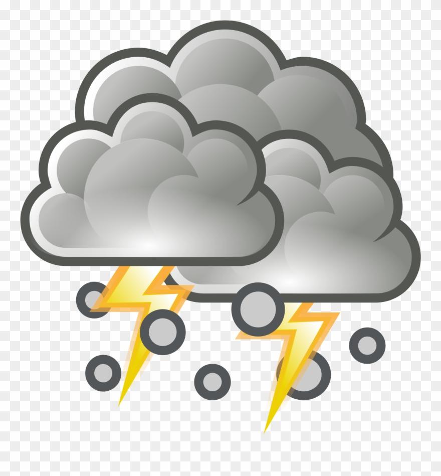 Hurricane Clipart Hail Weather.