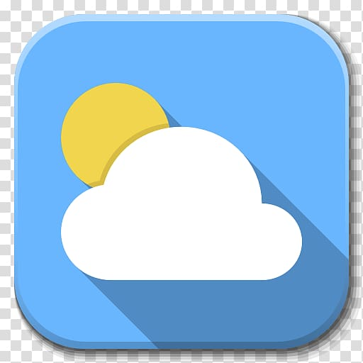 Weather icon, blue sky daytime personal protective equipment.