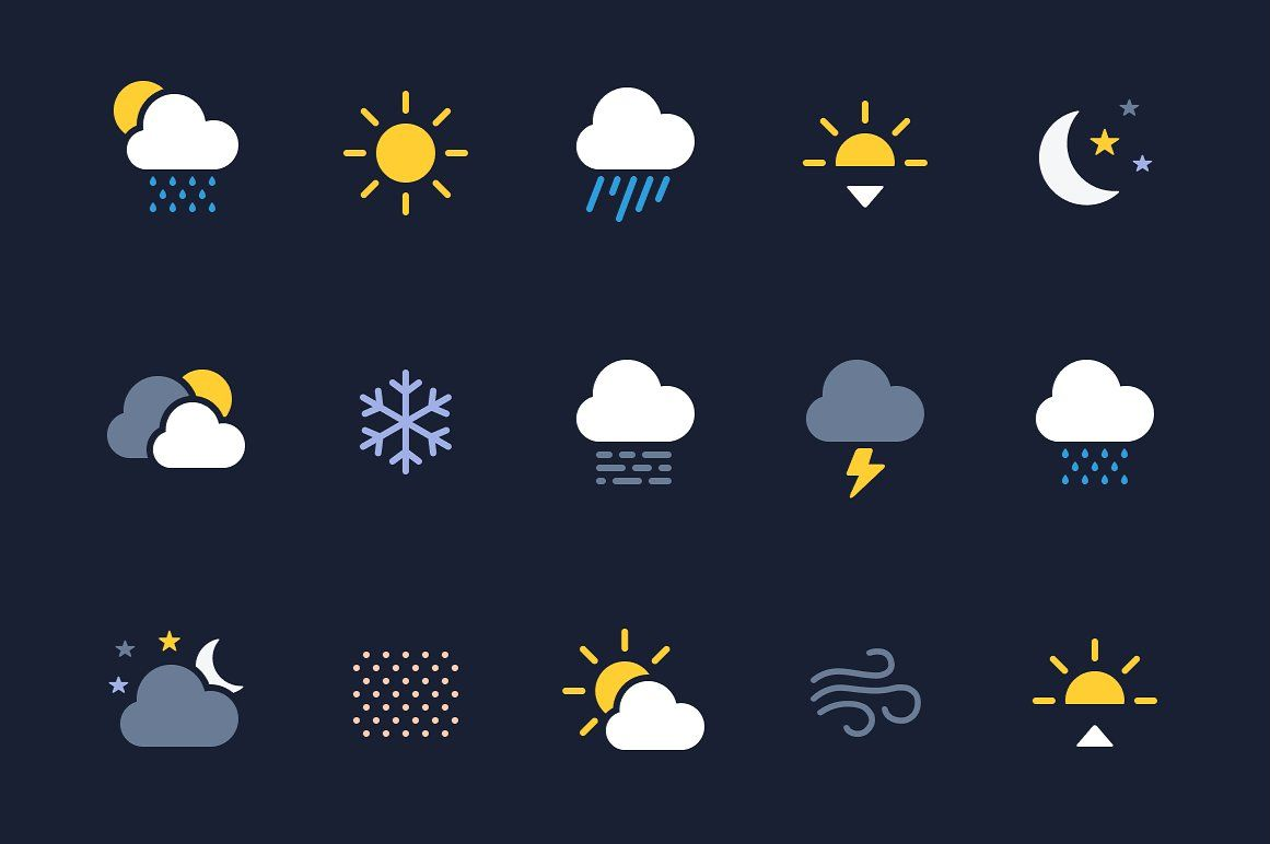Weather Icons (SVG) #Ad , #Sponsored, #ready#format#edited.