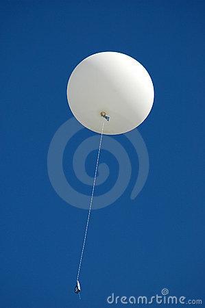 Weather Balloon Royalty Free Stock Image.