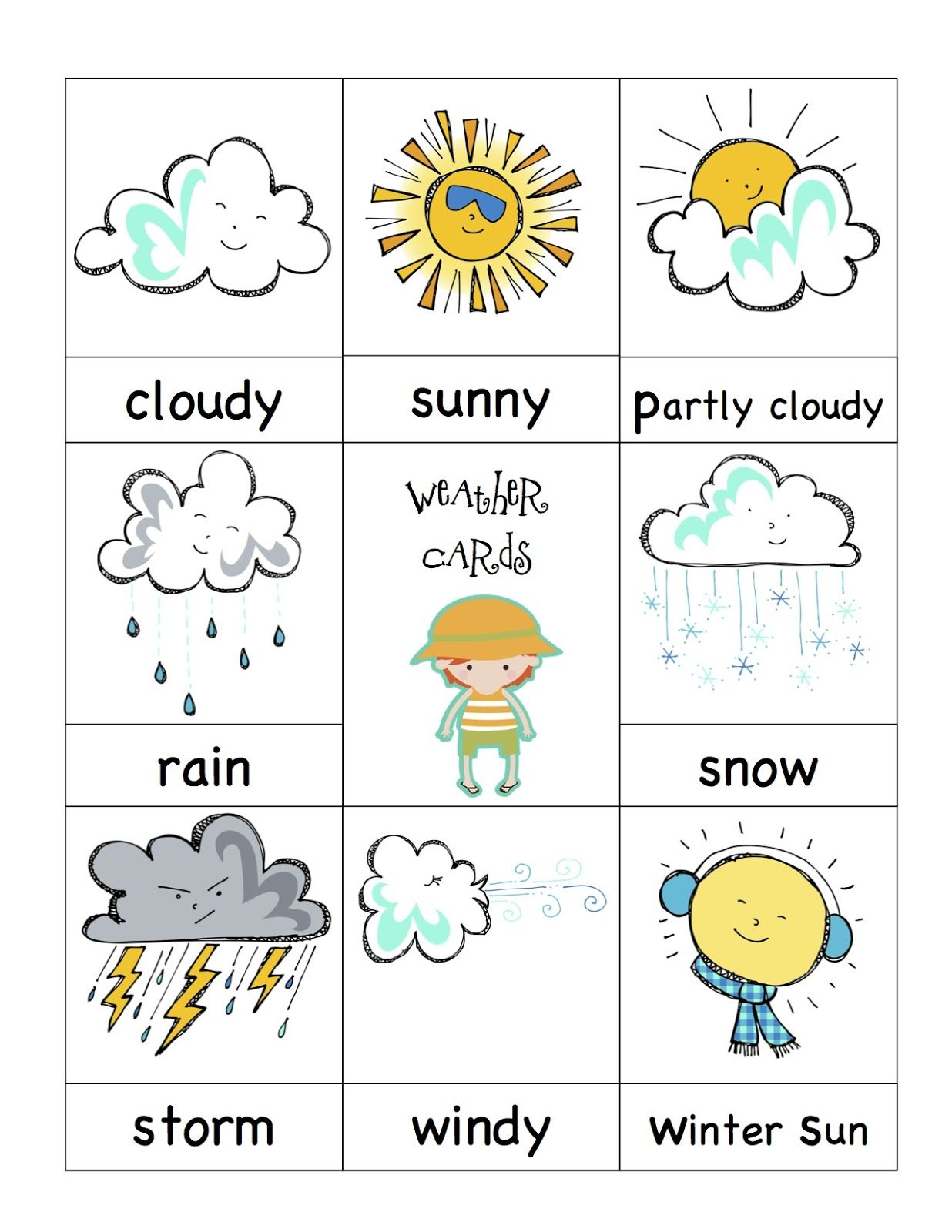 Weather Cards.