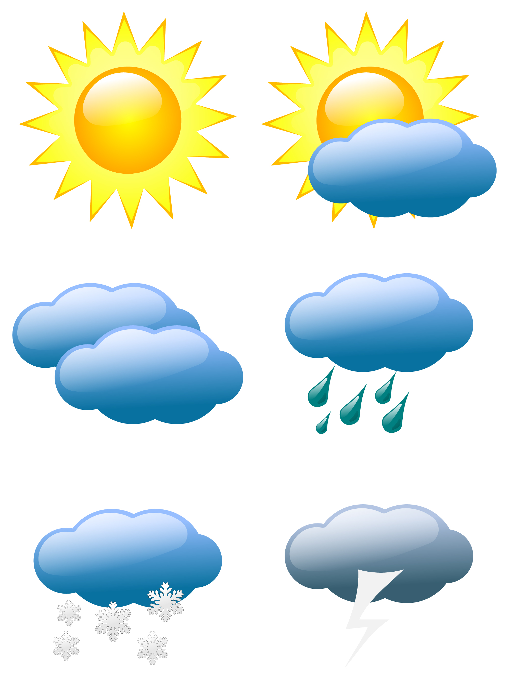 Weather changes clipart - Clipground