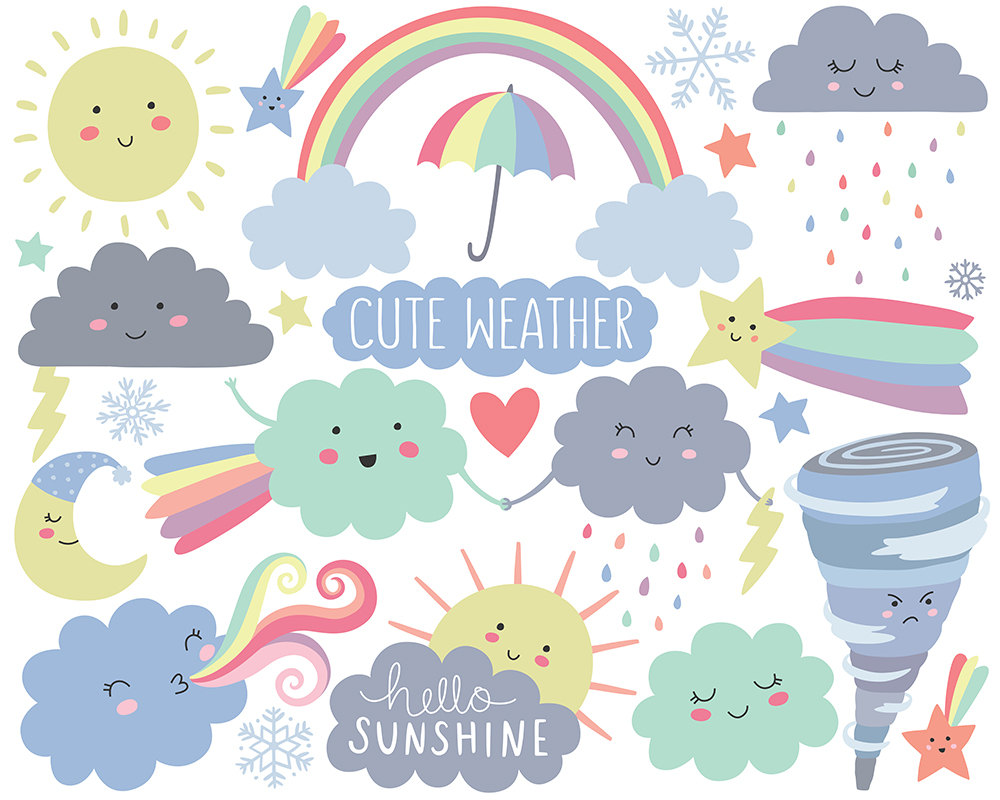 Cute Weather Clipart.