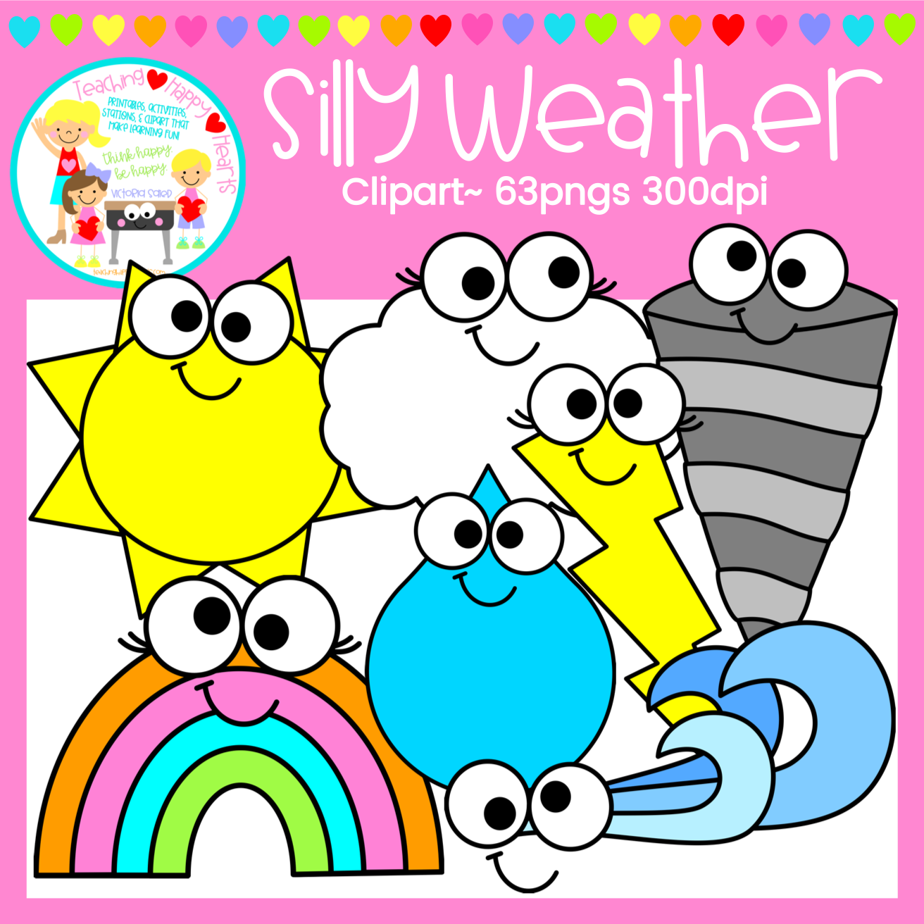 Silly Weather Clipart.