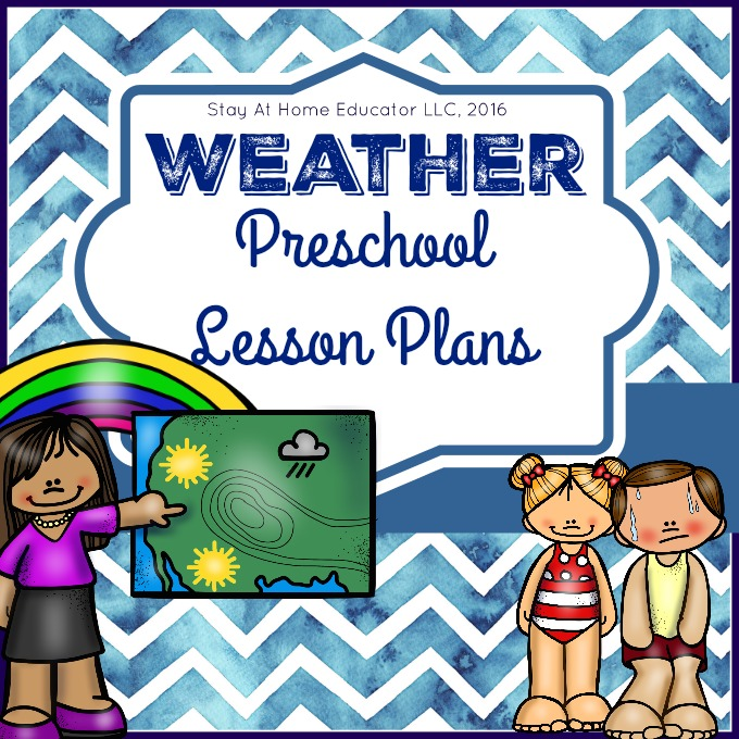Weather Theme Preschool Lesson Plans.