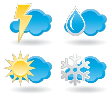 Free Weather Icon Set Clipart Picture Free Download.