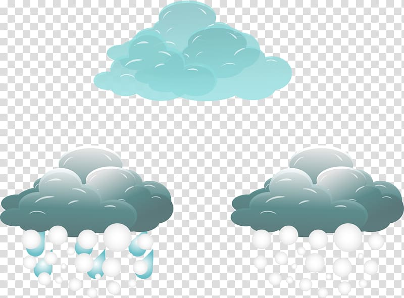 Rain Weather , Cloudy weather icon transparent background.