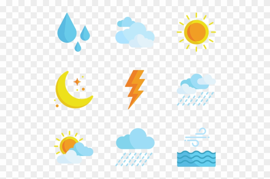 Free Weather Icons Png Banner Freeuse Library.