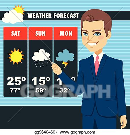 weather man clipart #1