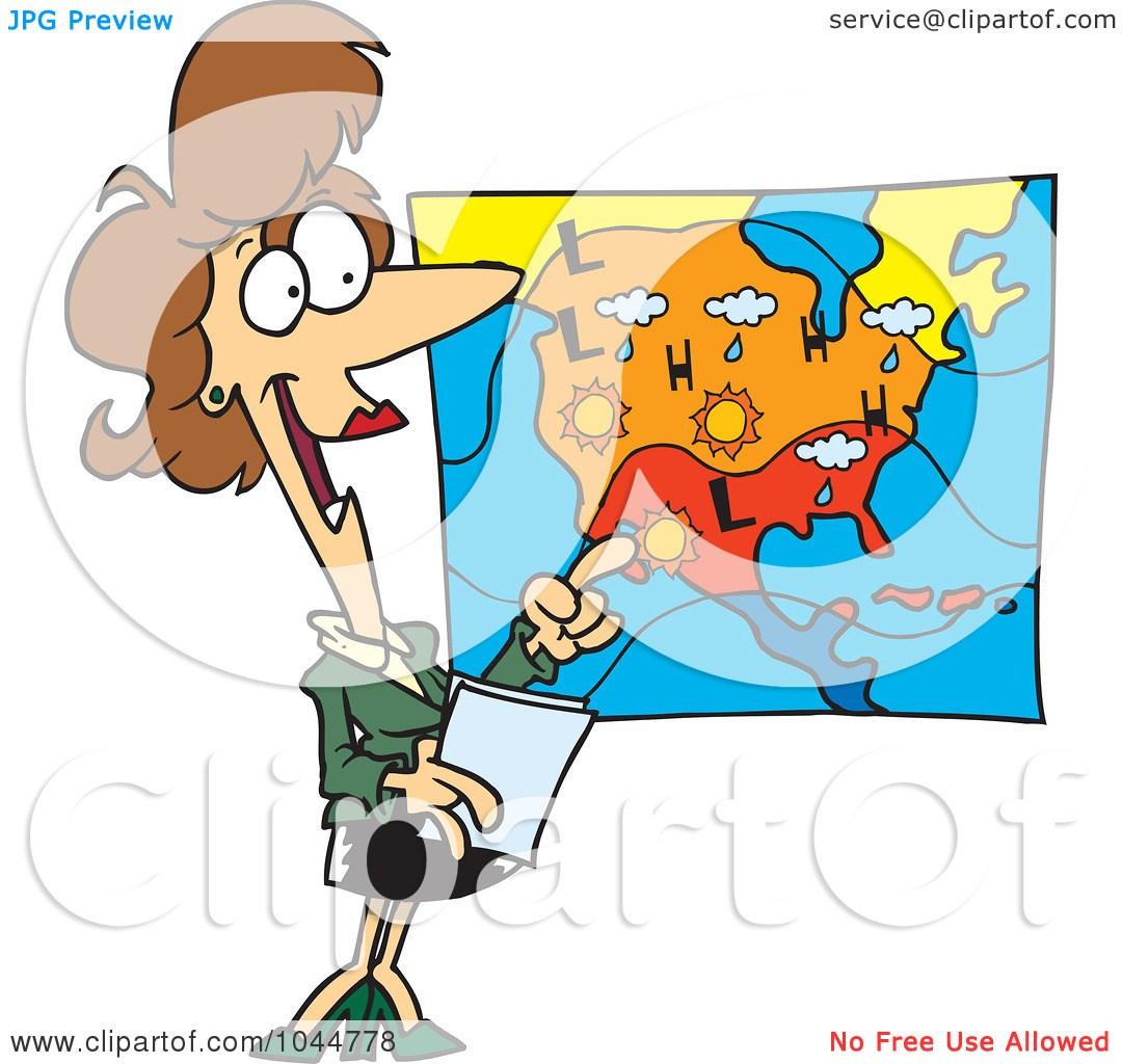 Weather map clipart 1 » Clipart Portal.