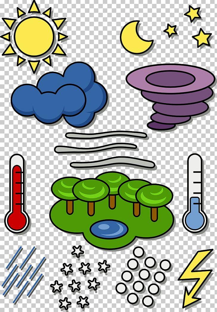 Weather Map Symbol PNG, Clipart, Area, Artwork, Cartoon.