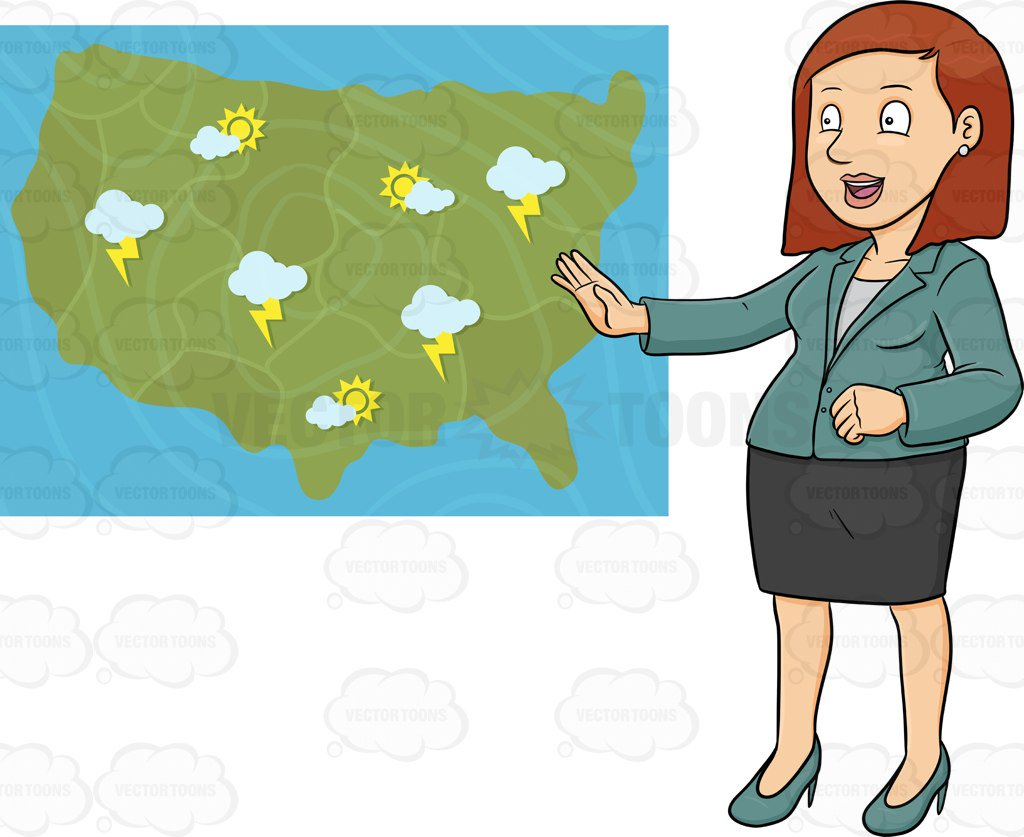 Weather forecast clipart 3 » Clipart Station.