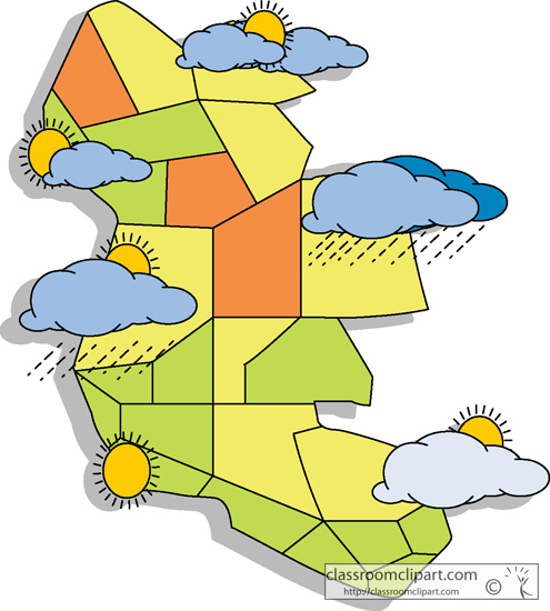 Season clipart weather map pencil and in color season.