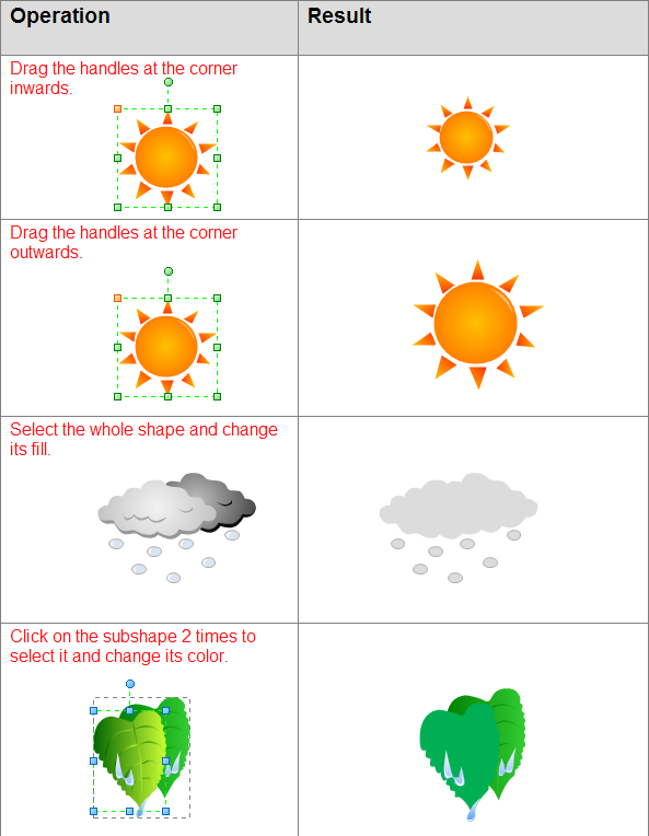 How to Use Weather Clipart.