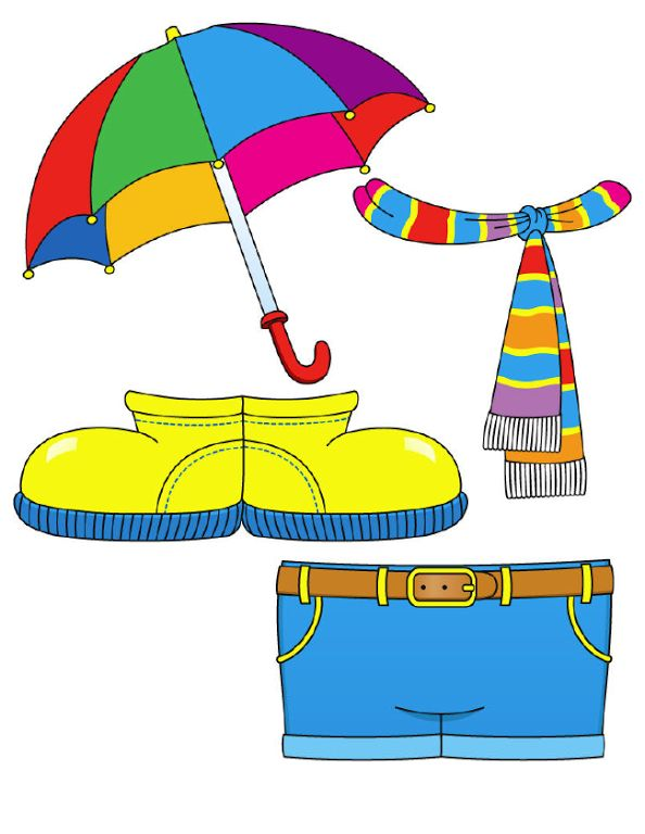 Printable paper dolls to teach appropriate warm/ cold.