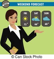 Weather reporter Clipart Vector and Illustration. 86 Weather.