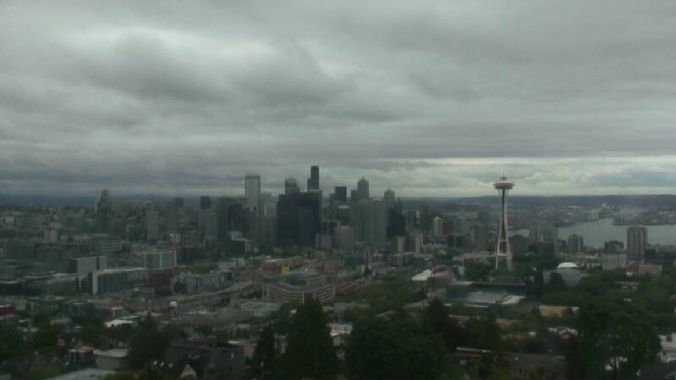 Seattle's July weather this year: totally normal.