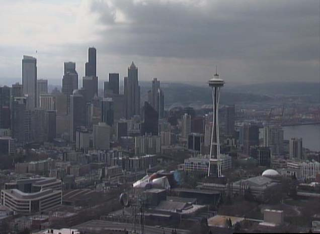 Seattle weather: Grey, and I love it..