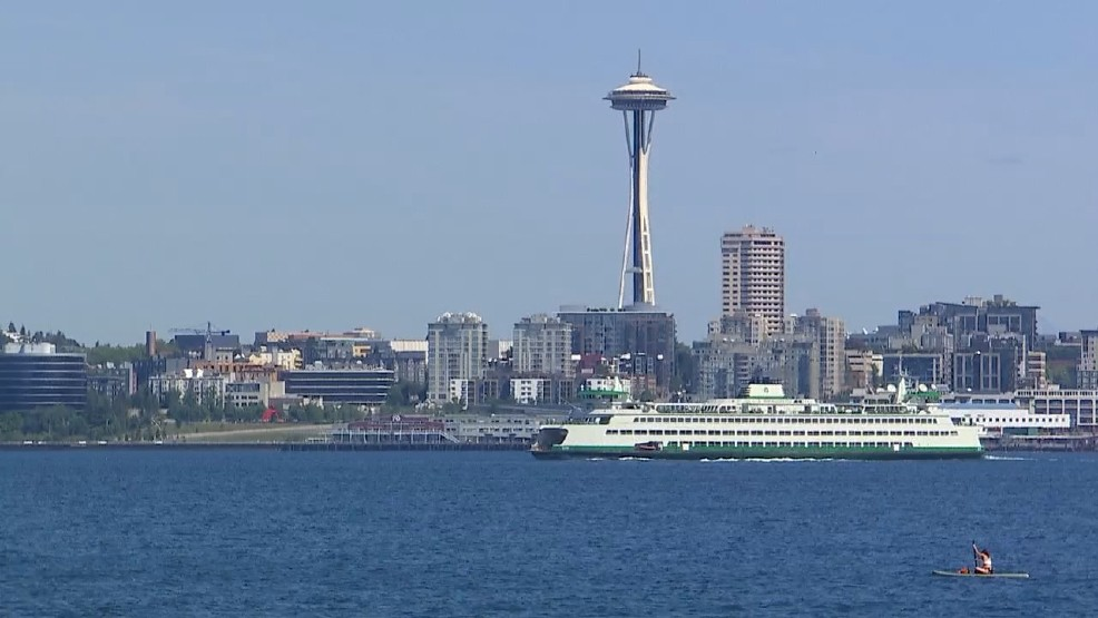Seattle crowned 'least severe' weather spot in the nation.