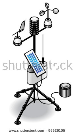 Weather Station Stock Photos, Royalty.
