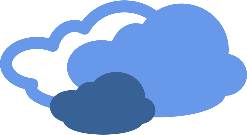Free Clipart: Simple weather symbols.