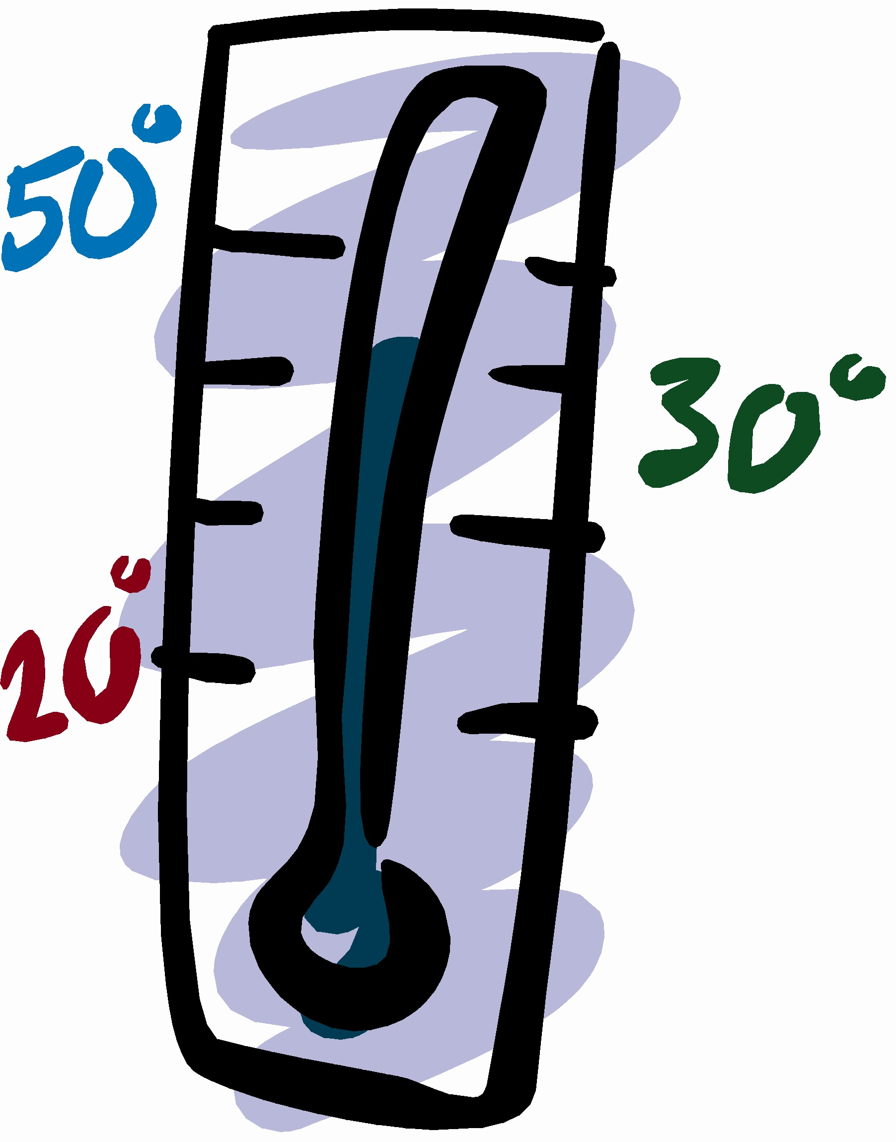 Cold Weather Thermometer Clip Art N8 free image.