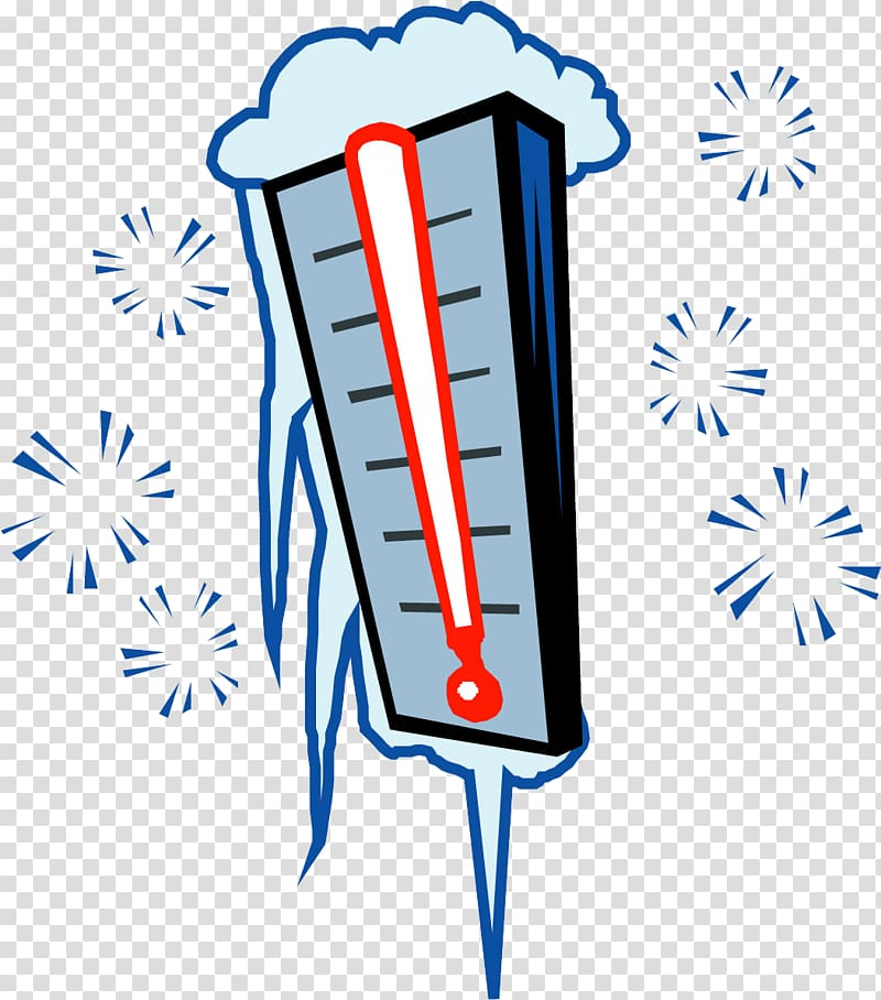 Cold Temperature Weather Thermometer , Winter thermometer.