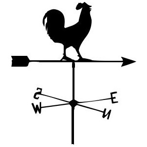 Weathervane clipart.