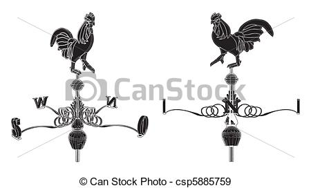 Weathercock Clipart Vector and Illustration. 133 Weathercock clip.