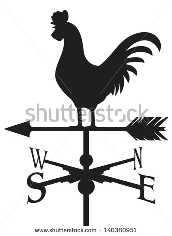 Weathercock Stock Images, Royalty.