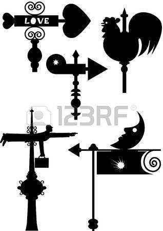 448 Weathercock Stock Vector Illustration And Royalty Free.