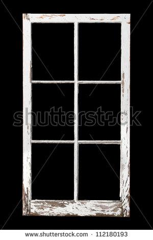 Old Rotting Window Frame Toned Black Stock Photo 64724920.