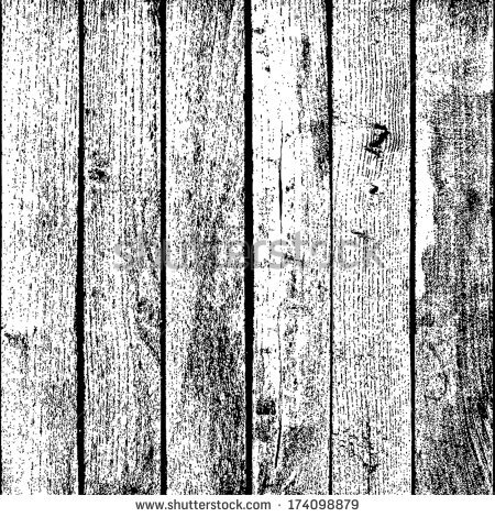 Distressed Wood Plank Clipart.