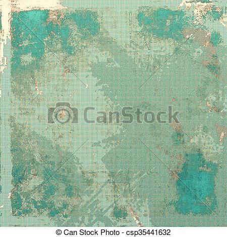 Drawings of Retro grunge vintage background or weathered antique.