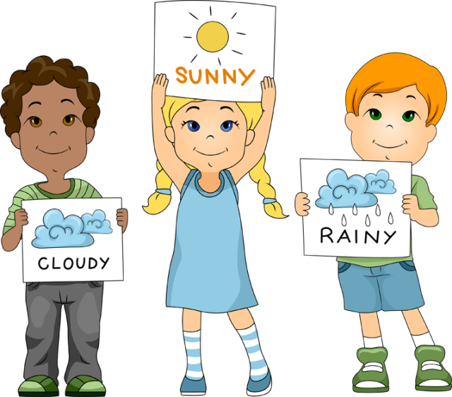Weatherman Clipart.