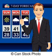 Weatherman Illustrations and Clip Art. 83 Weatherman royalty free.