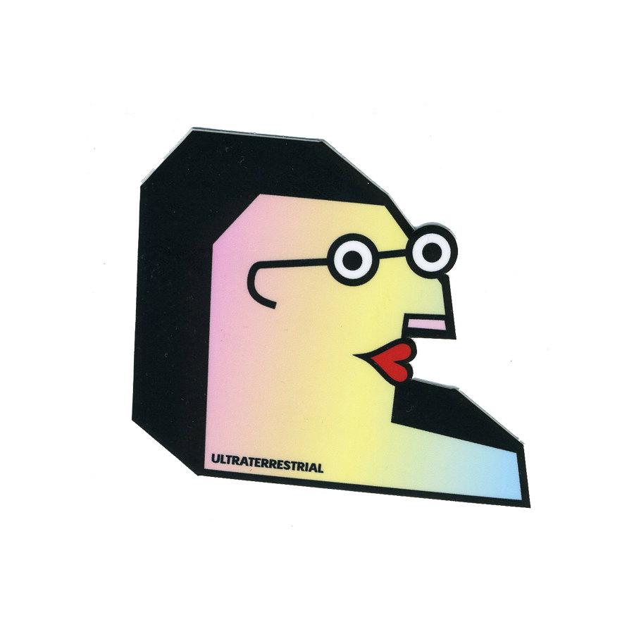 Living :: STICKERS + STATIONARY :: Mr. Bluechin Weatherproof Sticker.