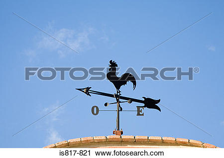 Stock Photography of Weather vane is817.