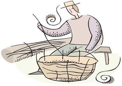 Basket Weave Clipart.