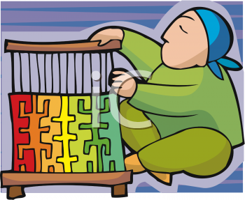 Weavers And Artisans Clipart.