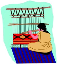 Weaving Clipart.